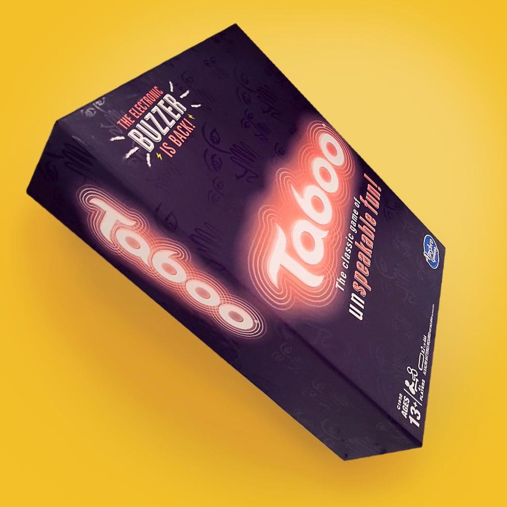 Hasbro games packaging