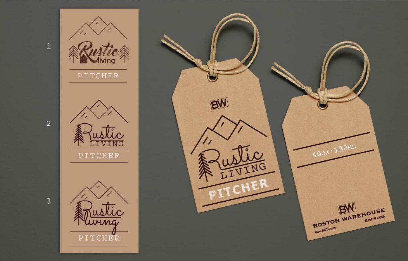 Rustic Retail Hang Tag